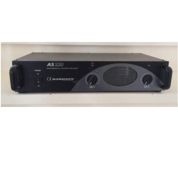 Occasion amplificateur Audiophony AS 220